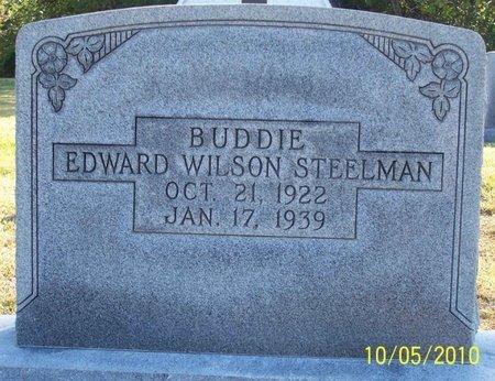 "STEELMAN, EDWARD WILSON ""BUDDIE"" - Lincoln County, Tennessee | EDWARD WILSON ""BUDDIE"" STEELMAN - Tennessee Gravestone Photos"