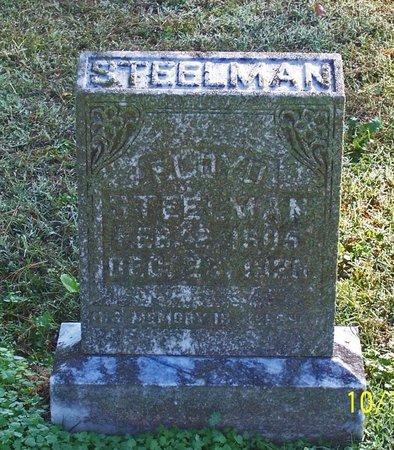 STEELMAN, FLOYD - Lincoln County, Tennessee   FLOYD STEELMAN - Tennessee Gravestone Photos