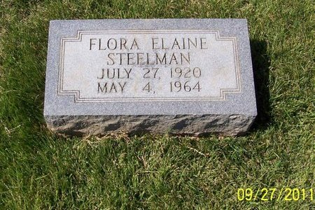 STEELMAN, FLORA ELAINE - Lincoln County, Tennessee | FLORA ELAINE STEELMAN - Tennessee Gravestone Photos