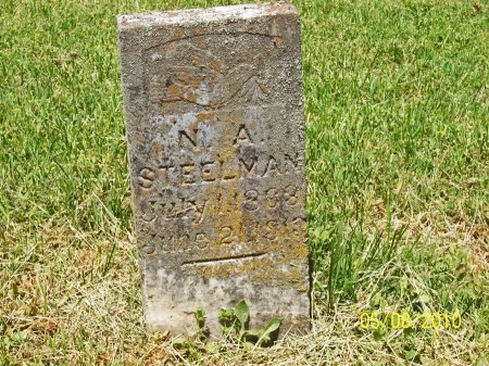 STEELMAN, N. A. - Lincoln County, Tennessee | N. A. STEELMAN - Tennessee Gravestone Photos