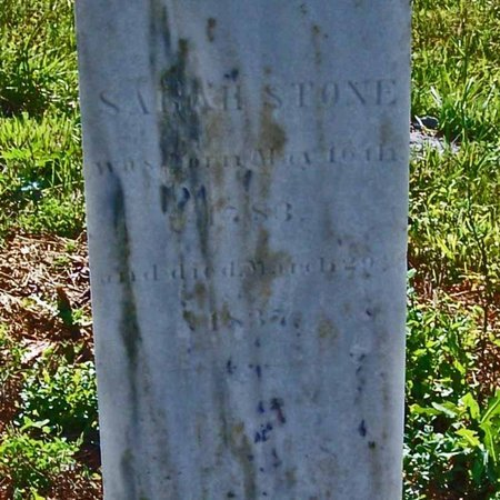 STONE, SARAH - Lincoln County, Tennessee | SARAH STONE - Tennessee Gravestone Photos