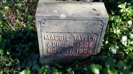 TAYLOR, MAGGIE - Lincoln County, Tennessee   MAGGIE TAYLOR - Tennessee Gravestone Photos