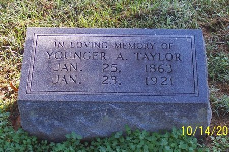 TAYLOR, YOUNGER A. - Lincoln County, Tennessee | YOUNGER A. TAYLOR - Tennessee Gravestone Photos
