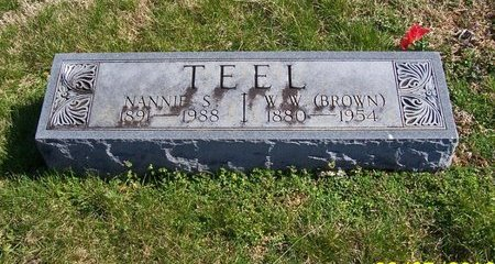 "TEEL, W. W. ""BROWN"" - Lincoln County, Tennessee 