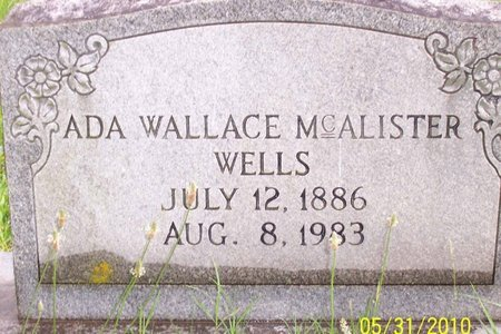 WALLACE WELLS, ADA - Lincoln County, Tennessee | ADA WALLACE WELLS - Tennessee Gravestone Photos
