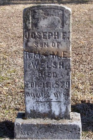WELSH, JOSEPH - Lincoln County, Tennessee | JOSEPH WELSH - Tennessee Gravestone Photos