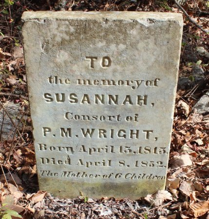 LAY WRIGHT, SUSANNAH - Lincoln County, Tennessee | SUSANNAH LAY WRIGHT - Tennessee Gravestone Photos