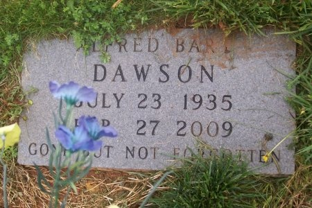 DAWSON, ALFRED BART - Loudon County, Tennessee | ALFRED BART DAWSON - Tennessee Gravestone Photos