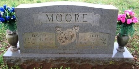 MOORE, EDITH - Loudon County, Tennessee | EDITH MOORE - Tennessee Gravestone Photos