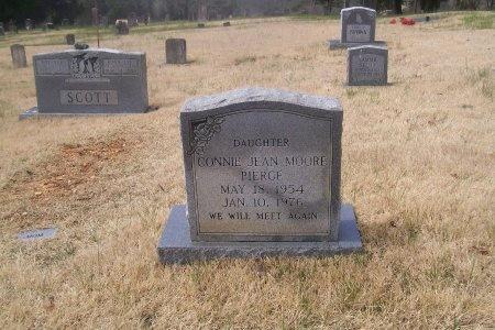 MOORE PIERCE, CONNIE JEAN - Loudon County, Tennessee | CONNIE JEAN MOORE PIERCE - Tennessee Gravestone Photos