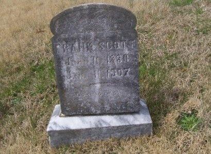SCOTT, FRANK - Loudon County, Tennessee | FRANK SCOTT - Tennessee Gravestone Photos