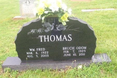 THOMAS, BRUCIE - Loudon County, Tennessee | BRUCIE THOMAS - Tennessee Gravestone Photos