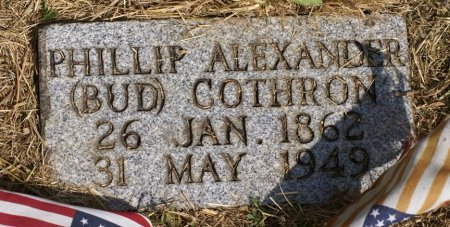 "COTHRON, PHILLIP ALEXANDER ""BUD"" - Macon County, Tennessee | PHILLIP ALEXANDER ""BUD"" COTHRON - Tennessee Gravestone Photos"