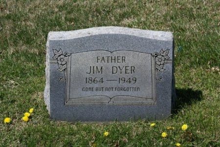 """DYER, JAMES TOLBERT """"JIM"""" - Macon County, Tennessee   JAMES TOLBERT """"JIM"""" DYER - Tennessee Gravestone Photos"""