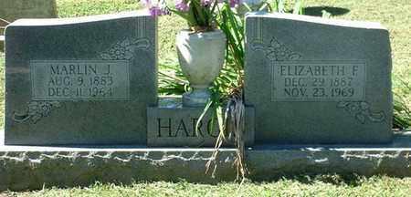 HARGIS, ELIZABETH F - Macon County, Tennessee | ELIZABETH F HARGIS - Tennessee Gravestone Photos