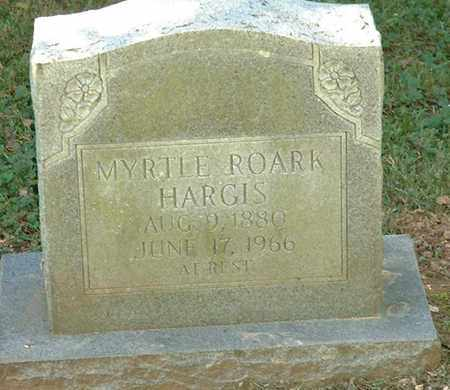 HARGIS, MYRTLE - Macon County, Tennessee | MYRTLE HARGIS - Tennessee Gravestone Photos