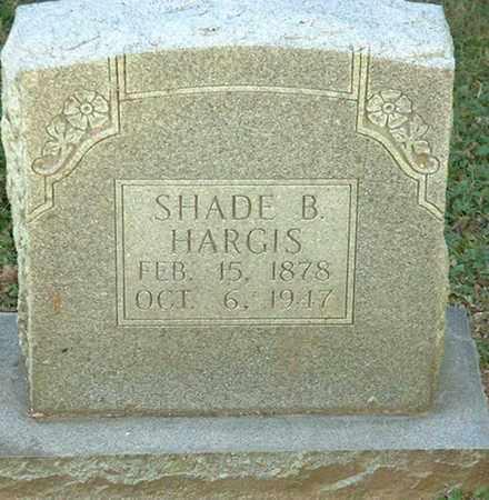 HARGIS, SHADE B. - Macon County, Tennessee   SHADE B. HARGIS - Tennessee Gravestone Photos