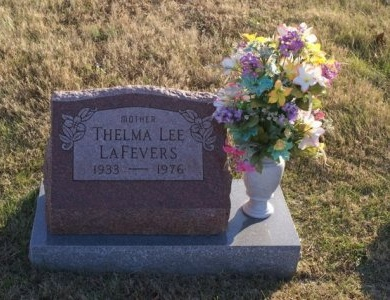 LAFEVERS, THELMA LEE - Macon County, Tennessee | THELMA LEE LAFEVERS - Tennessee Gravestone Photos
