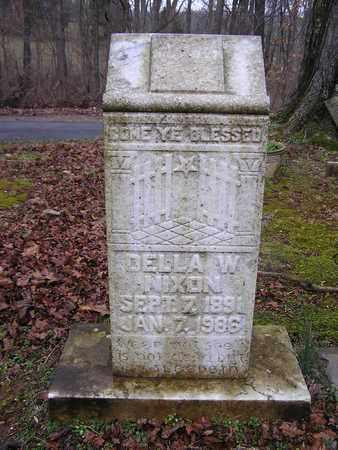 WHITLEY NIXON, DELLA W. - Macon County, Tennessee | DELLA W. WHITLEY NIXON - Tennessee Gravestone Photos