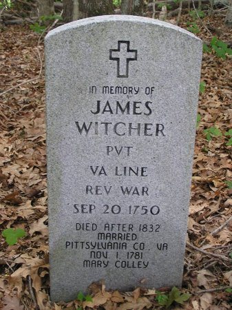 WITCHER (VETERAN REV), JAMES - Macon County, Tennessee | JAMES WITCHER (VETERAN REV) - Tennessee Gravestone Photos