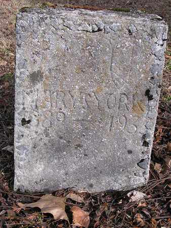 YORK, MARY S. - Macon County, Tennessee | MARY S. YORK - Tennessee Gravestone Photos
