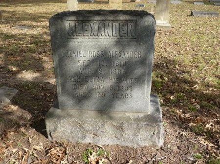 ALEXANDER, EZEKIEL ROSS - Madison County, Tennessee | EZEKIEL ROSS ALEXANDER - Tennessee Gravestone Photos