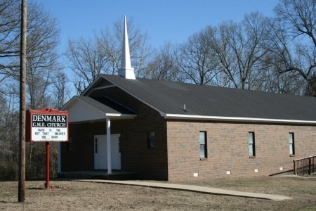 *DENMARK CME CHURCH,  - Madison County, Tennessee    *DENMARK CME CHURCH - Tennessee Gravestone Photos