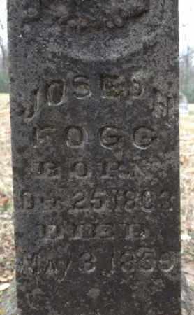FOGG, JOSEPH - Madison County, Tennessee   JOSEPH FOGG - Tennessee Gravestone Photos