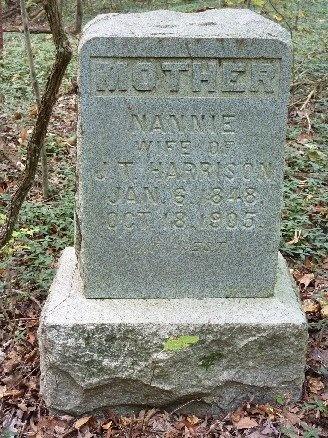 GIVENS HARRISON, NANNIE - Madison County, Tennessee | NANNIE GIVENS HARRISON - Tennessee Gravestone Photos