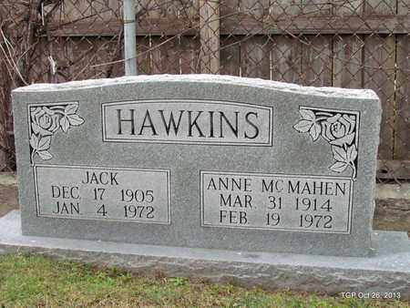 HAWKINS, ANNE MCMAHEN - Madison County, Tennessee | ANNE MCMAHEN HAWKINS - Tennessee Gravestone Photos