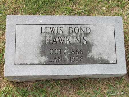 HAWKINS, LEWIS BOND - Madison County, Tennessee | LEWIS BOND HAWKINS - Tennessee Gravestone Photos