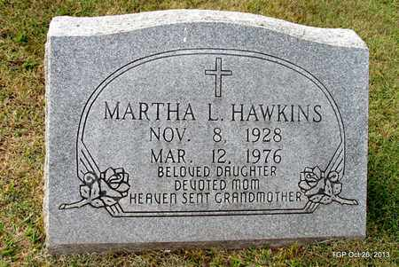 HAWKINS, MARTHA L. - Madison County, Tennessee | MARTHA L. HAWKINS - Tennessee Gravestone Photos