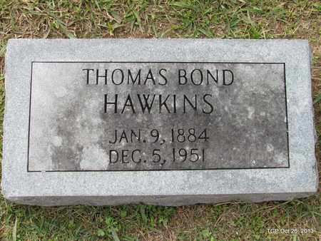 HAWKINS, THOMAS BOND - Madison County, Tennessee | THOMAS BOND HAWKINS - Tennessee Gravestone Photos