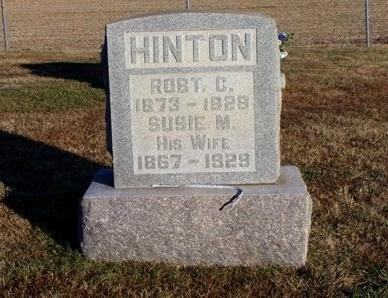 HINTON, SUSIE MARTHA - Madison County, Tennessee | SUSIE MARTHA HINTON - Tennessee Gravestone Photos