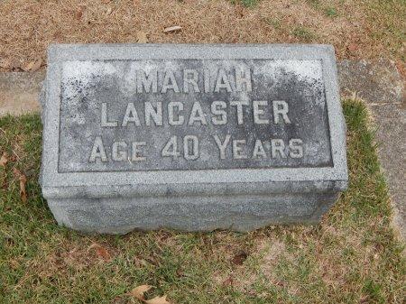 LANCASTER, MARIAH - Madison County, Tennessee | MARIAH LANCASTER - Tennessee Gravestone Photos