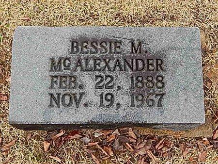 MCALEXANDER, BESSIE M - Madison County, Tennessee | BESSIE M MCALEXANDER - Tennessee Gravestone Photos