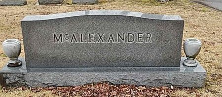 MCALEXANDER, FAMILY MARKER - Madison County, Tennessee | FAMILY MARKER MCALEXANDER - Tennessee Gravestone Photos
