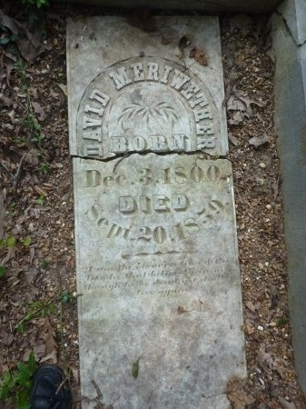 MERIWETHER, DAVID - Madison County, Tennessee | DAVID MERIWETHER - Tennessee Gravestone Photos