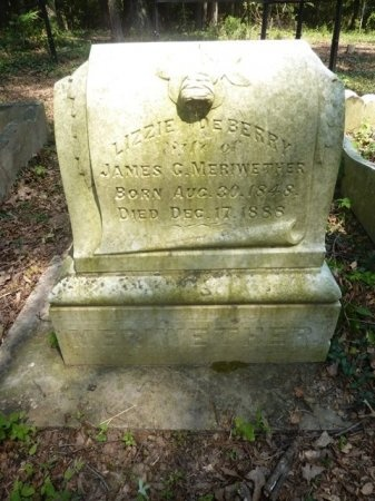 "DEBERRY MERIWETHER, ELIZABETH ""LIZZIE"" - Madison County, Tennessee 