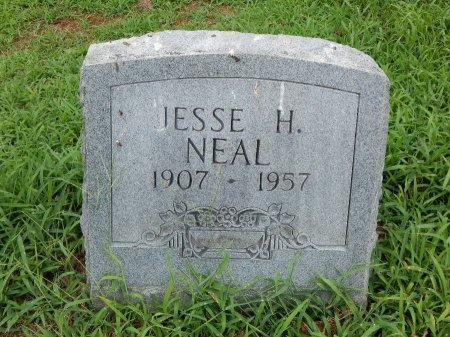 NEAL, JESSE H - Madison County, Tennessee | JESSE H NEAL - Tennessee Gravestone Photos