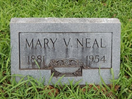 NEAL, MARY V - Madison County, Tennessee | MARY V NEAL - Tennessee Gravestone Photos