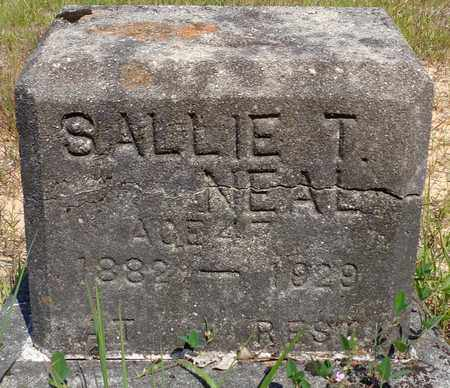 NEAL, SALLIE T. - Madison County, Tennessee | SALLIE T. NEAL - Tennessee Gravestone Photos