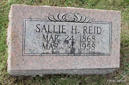 REID, SALLIE H. - Madison County, Tennessee | SALLIE H. REID - Tennessee Gravestone Photos