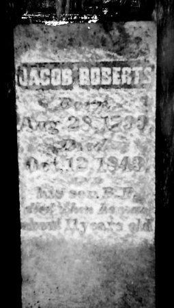 ROBERTS, JACOB - Madison County, Tennessee | JACOB ROBERTS - Tennessee Gravestone Photos