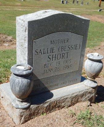 """SHORT, SALLIE """"BESSIE"""" - Madison County, Tennessee   SALLIE """"BESSIE"""" SHORT - Tennessee Gravestone Photos"""
