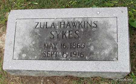 HAWKINS SYKES, ZULA - Madison County, Tennessee | ZULA HAWKINS SYKES - Tennessee Gravestone Photos