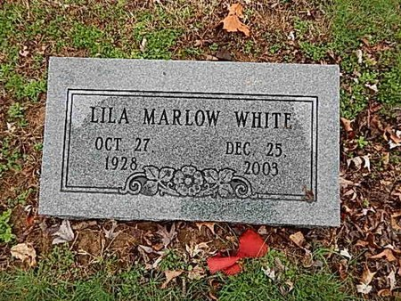 WHITE, LILA - Madison County, Tennessee   LILA WHITE - Tennessee Gravestone Photos