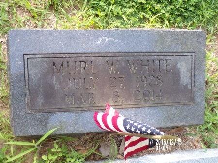 WHITE, MURL W - Madison County, Tennessee | MURL W WHITE - Tennessee Gravestone Photos