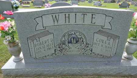 WHITE, CORA A. - Madison County, Tennessee | CORA A. WHITE - Tennessee Gravestone Photos