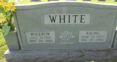 WHITE, WOODROW - Madison County, Tennessee | WOODROW WHITE - Tennessee Gravestone Photos